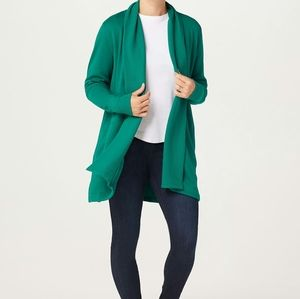Isaac Open Front Knit Jacket